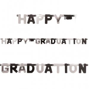 Banderin Letras lrg:HAPPY GRAD