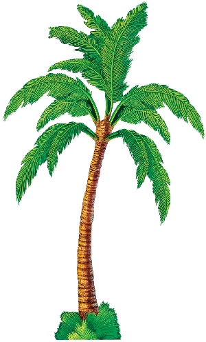Recortable jointed:PALM TREE 1.8cm