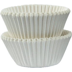 Molde Cup CakeWhite Mini Cupcake Cases 30mm