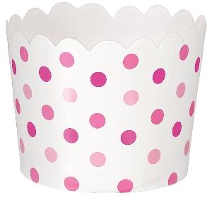Cesta Pink Buffet Mini Scalloped Cups