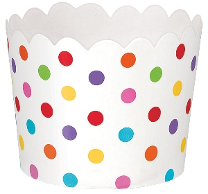 Cesta Rainbow Buffet Mini Scalloped Cups