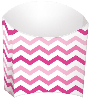 Cesta Pink Buffet Paper Snack Containers