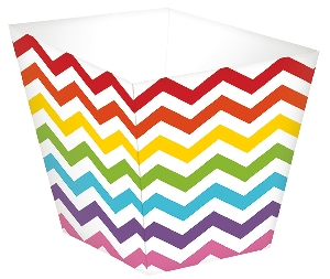 Cesta Rainbow Buffet Mini Paper Treat Cups