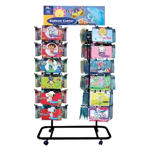 Expositor:96 PEG STAND Negro