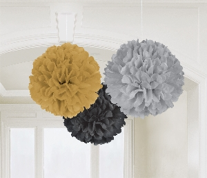 DECOR. COLG:POM POMS HOLLYWOOD