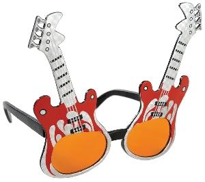 Gafas Fun Shades Rock Guitar Tinted