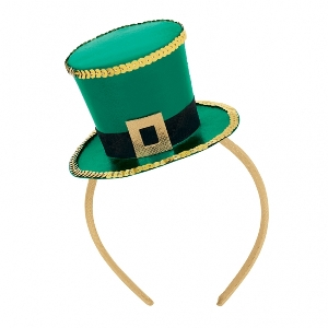 FASCINATOR ST PATS TOP HAT