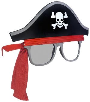 Gafas Fun Shades Pirate Tinted/Clear