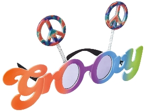 Gafas Fun Shades Groovy 60's Tinted