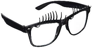 Gafas Fun Shades Lashes Black Clear