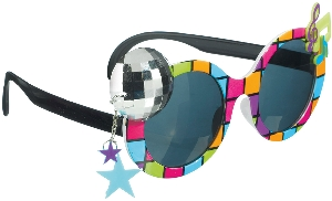 Gafas Fun Shades Disco 70's Tinted