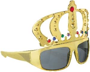 Gafas Fun Shades King Gold Tinted