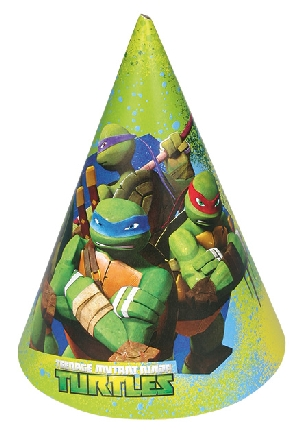 TMNT 6 Party Gorros  **Stock Oferta