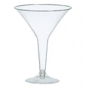 BPP PL MARTINI GLASS - CLEAR
