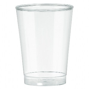 Vaso grande 10 0Z PL CLEAR - 20CT