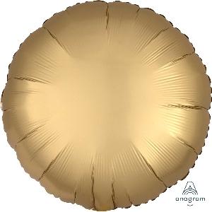 "18""/45cm CIRCULO Satin Gold Sateen Circle"