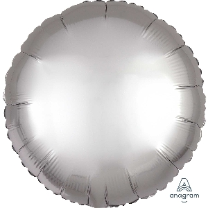 "18""/45cm CIRCULO Satin Platinum Circle"