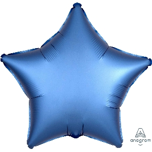 "18""/45cm ESTRELLA  Satin Azure Star (EMPAQUETADOS)"