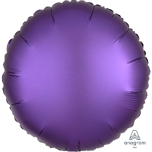 "18""/45cm CIRCULO Satin Purple Royale Circle (EMPAQUETADOS)"