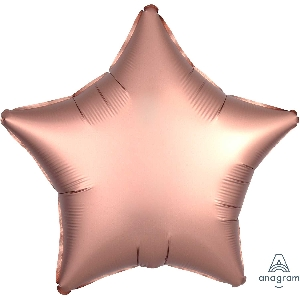 "18""/45cm ESTRELLA  Satin Rose Copper Star"
