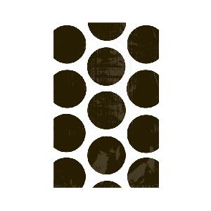 Bolsa Candy Buffet Black Polka Dots
