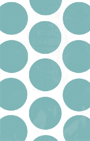 Bolsa Candy Buffet Polka Dots  Robin Egg Blue