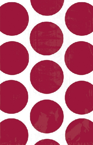 Bolsa Candy Buffet Polka Dots  Apple Red