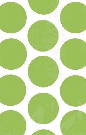 Bolsa Candy Buffet Polka Dots  Kiwi Green