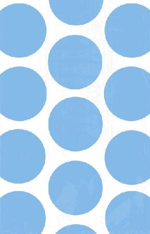 Bolsa Candy Buffet Polka Dots  Caribbean Blue