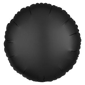 Satin Luxe Onyx Circle (EMPAQUETADOS)