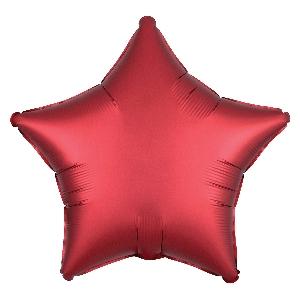 Satin Luxe Sangria Star (EMPAQUETADOS)