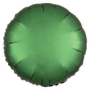 Satin Luxe Emerald Circle