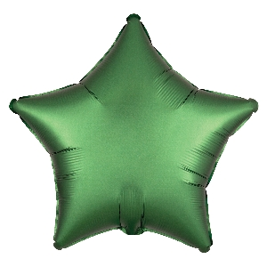 Satin Luxe Emerald Star