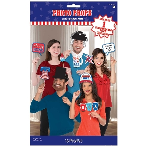 PHOTO KIT BASIC PROPS PATRIOTIC