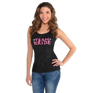 Camiseta sin Mangas ''Equipo Novia'' - S/M