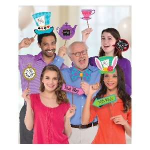 Photo Kit Mad Tea Party Photo Props