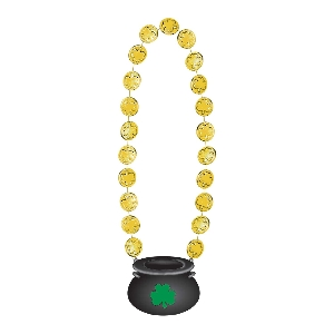 COLLAR GLD COIN ST PATS