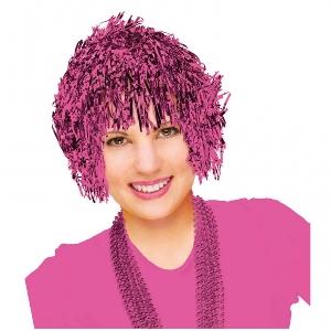 Disfraz Acc Team Spirit - Wig Fun Pink