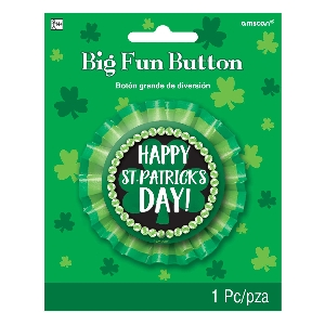 CHAPA ST PATRICKS DAY BIG FUN BADGE