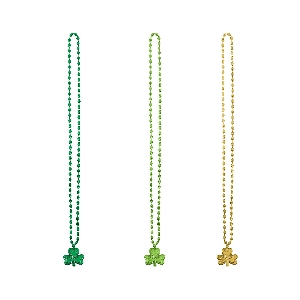 TRIPLE LUCKY ST PATS COLLARS