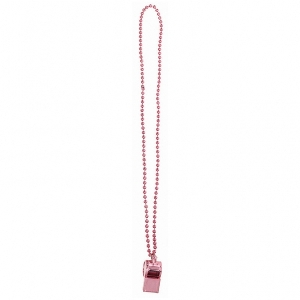Juguetes Team Spirit - Whistle on Chain Pink