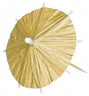 PICK PARASOL GOLD HI CT