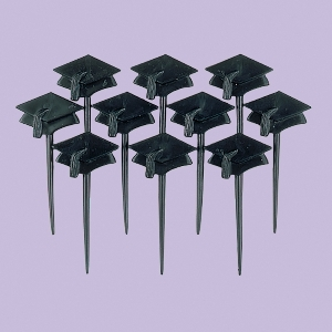 GRADUATION CAP PICKS-Negro