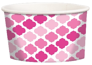Tarrina Pink Buffet Treat Cups