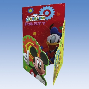 6 Invitaciones Mickey Clubhouse