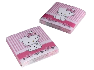 20 Servilletas 33x33 Charmmy Kitty( OFERTA)