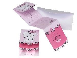 6 Invitaciones Charmmy Kitty (OFERTA )