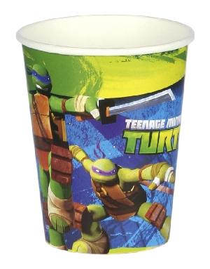TMNT 8 Vasos 266ml  **Stock