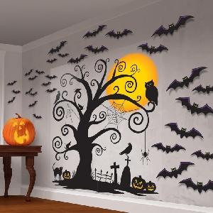 Decor Paredfamily Friendly Mega Value Halloween