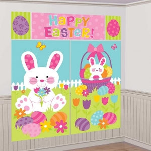 DECOR. PARED 5 PIECE EASTER